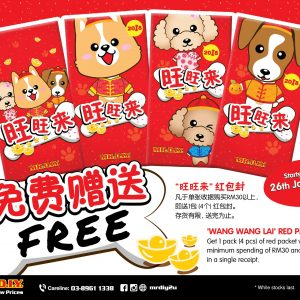 FREE MR. D.I.Y. RED PACKETS