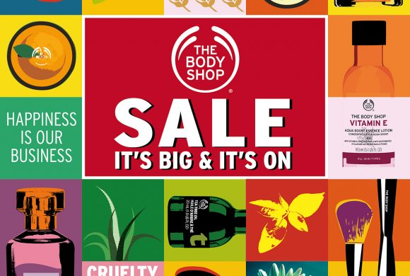 The Body Shop March Sale (16 – 25 March 2018)