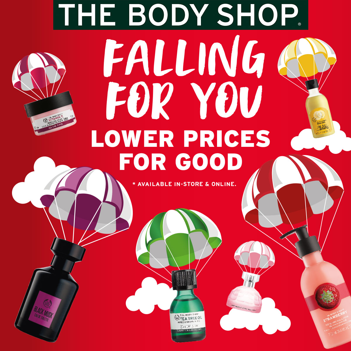 The Body Shop Falling For You Promotions