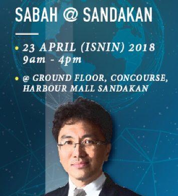"Roadshow ""Memperkukuhkan Ekonomi Digital Sabah @ Sandakan"""