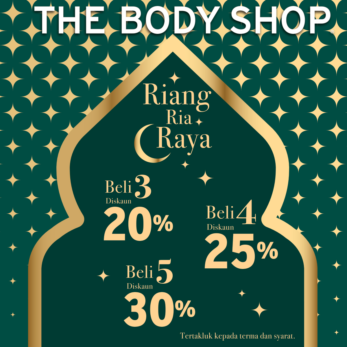 The Body Shop Hari Raya Promotion