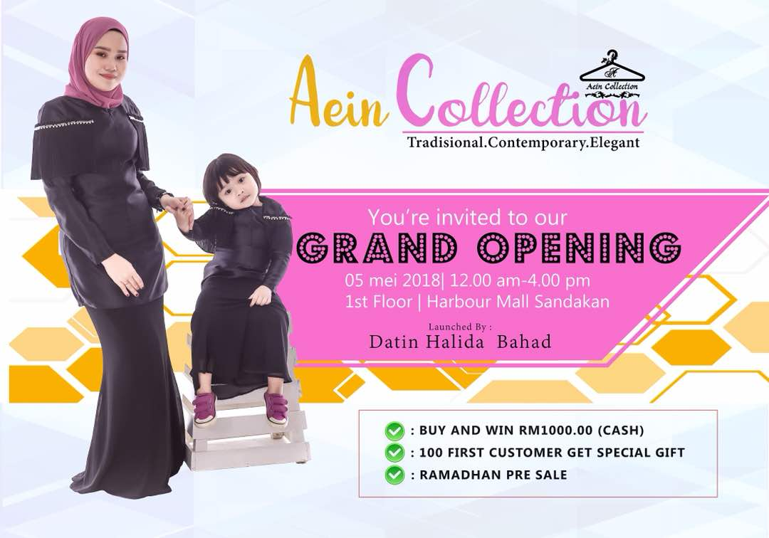 AEIN COLLECTION GRAND OPENING