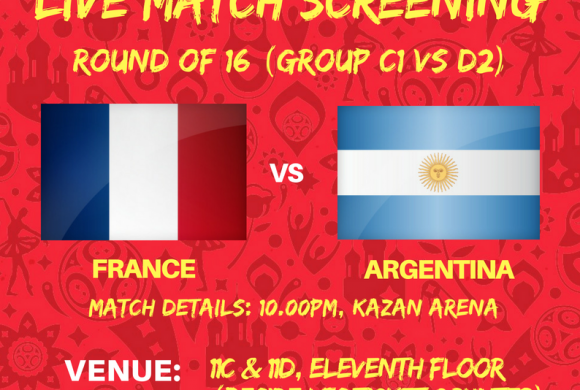 "FIFA World Cup Russia 2018 ""Live Match Screening"""