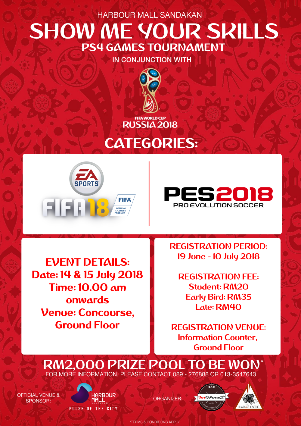 FIFA WORLD CUP 2018 RUSSIA – Event & Activities