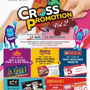 Harbour Mall Sandakan – Second Cross Promotion
