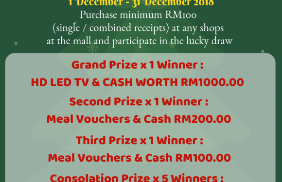 New Year Lucky Draw & 2019 Table Calendar Redemption