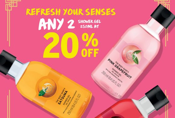 The Body Shop January Promotions Highlight