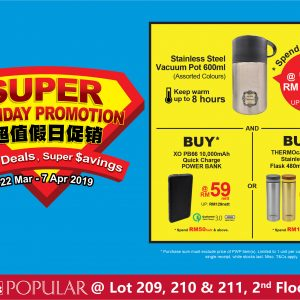 POPULAR Super Holiday Promotion