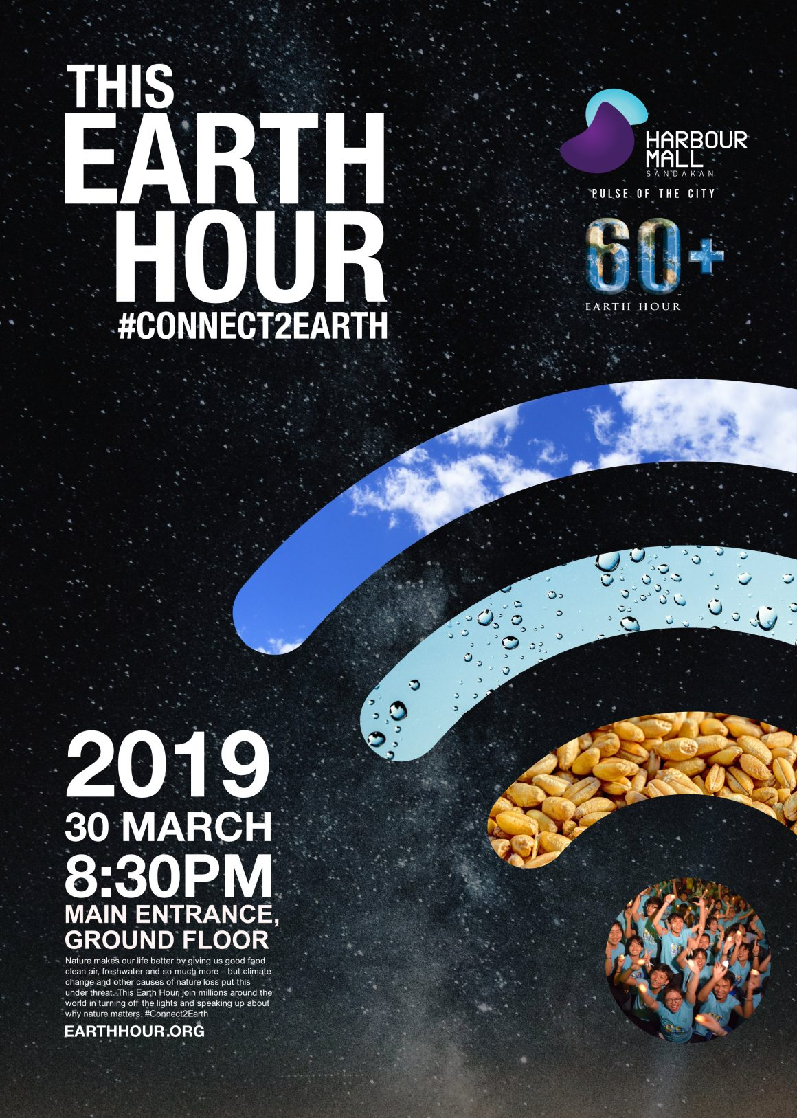 """Earth Hour """"#Connect2Earth"""" Celebration"""