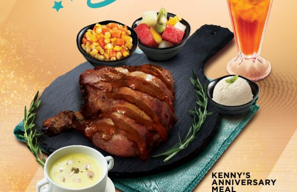 Kenny Rogers ROASTERS Anniversary Meal