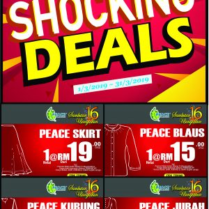 Peace Collections Shocking Deals