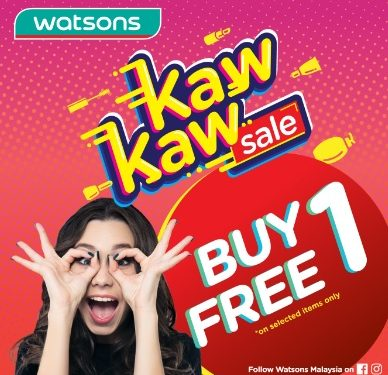 Watsons March Promotion Highlights