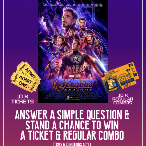 Marvel Avengers Endgame Facebook Contest