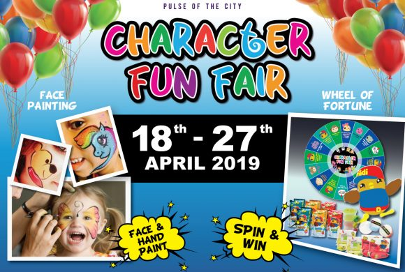 Harbour Mall Sandakan Character Funfair