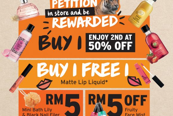 "The Body Shop ""Save Our Malayan Tigers"" Campaign"
