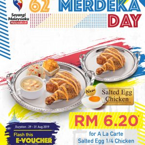 KRR Happy 62 Merdeka Day Promo