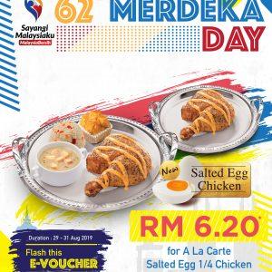 KRR Happy 62 Merdeka Day Promo
