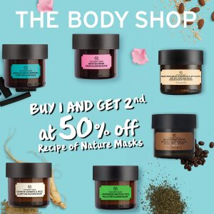 The Body Shop August / September Highlight