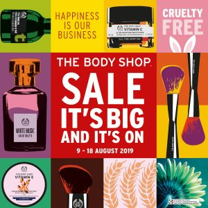 The Body Shop BIG SALE