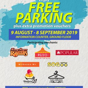 FREE Parking + Extra Voucher Promotions