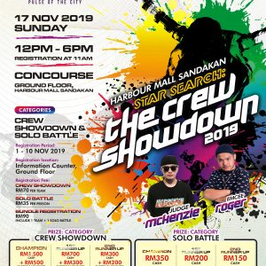 Harbour Mall Sandakan Star Search –  The Crew Showdown 2019