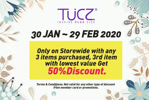 TUCZ February Promotion