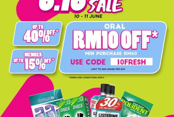 6.16 TOP TO TOE SALE by Watsons